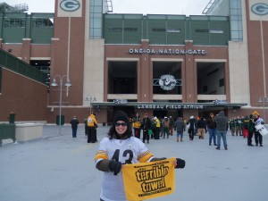 Steelers vs. Packers 2013, Lambeau Field, Green Bay, WI