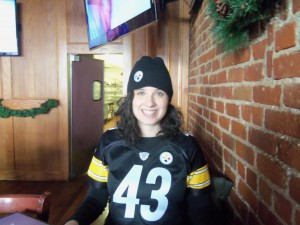 Steelers' bar, St. Paul, MN Steelers vs. Browns